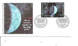 Espace ( FDC Des Marshall De 1999 à Voir) - Oceania