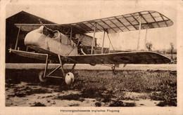 59524- Heruntergeschossenes Englisches Flugzeug Um 1915 - 1914-1918: 1ra Guerra