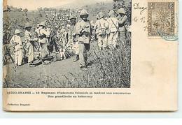 DIEGO-SUAREZ - 13è Régiment D'Infanterie Coloniale Se Rendant Aux Manoeuvres - Une Grand'halte Au Sakaramy - Madagascar