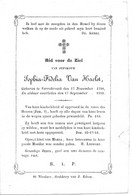 Van Haelst S.f. (verrebroek 1790-1859) - Religion & Esotericism