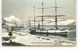 GROELAND - Ivigtut - Kryolitdampere-ved - Voilier - Greenland
