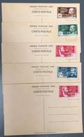 """Lot De 5 Cartes Postales """"Afrique Française Libre"""" Timbrées - (A1348) - Covers & Documents"""