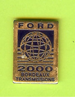Pin's Automobile Ford 2000 Bordeaux Transmissions - 1Z07 - Ford