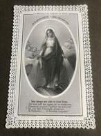 Image Religieuse Dentelle Vers 1870 - Images Religieuses