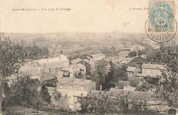 SAINTE MENEHOULD : VUE PRISE DU CHATEAU - Sainte-Menehould