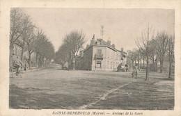 SAINTE MENEHOULD : AVENUE DE LA GARE - Sainte-Menehould
