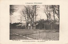 SAINTE MENEHOULD : UNE AMBULANCE - Sainte-Menehould