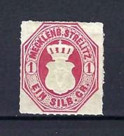 ⭐ Allemagne - Mecklenbourg Strelitz - YT N° 4 * - Neuf Avec Charnière - 1856 ⭐ - Mecklenburg-Strelitz