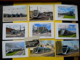 Photo ,TRAMWAY Et Gares De Haute-GARONNE , Collection Bourneuf ,lire Descriptif ,Toulouse ,nouveau Tramway... - Trains