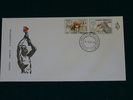 Greece 1997 Europa Cept Imperforate Unofficial FDC VF - FDC