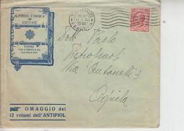 """ITALIA 1929 - Casa Editrice """"ALFREDO FORMICA - Torino"""""""" - Lettera Per Aquila-.- - Società, Politica, Economia"""