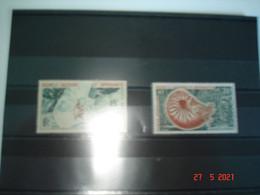 NOUVELLE-CALEDONIE   ANNEE 1955  NEUFS   N° YVERT  POSTE AERIENNE N°67 68         SERIE COURANTE - Collezioni (senza Album)