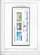 Wallis Et Futuna Blocs Feuillets - Collection Vendue Page Par Page - Neufs ** Sans  Charnière - TB - Blocks & Sheetlets