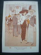 AFFICHE 1912 (Dessin) FABIANO. Les Jeux D'Argent. Vingt Louis De Gagnés. ( CASINO) - Affiches