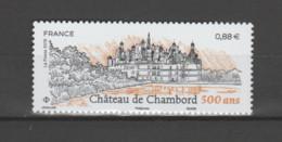 """FRANCE / 2019 / Y&T N° 5331 ** : """"Touristique"""" (Château De Chambord - Loir-et-Cher) X 1 - Unused Stamps"""
