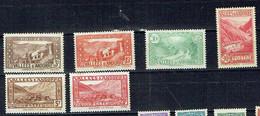 ANDORRE FRANCAIS1932-33*Y&T26,29,32,38,43,45VOIR SCAN VERSO - Unused Stamps