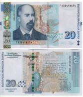 BULGARIA   New  20 Leva  Pnew  (P118c  Dated 2020)    New Signature  UNC - Bulgaria
