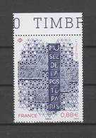 FRANCE / 2019 / Y&T N° 5356 ** : Ré-ouverture Du Musée De La Poste à Paris X 1 BdF Haut - Neufs