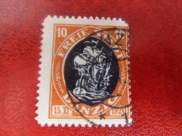 DANZIG - FREIE STADT - Val 10 - Orange - Oblitéré - Année 1920 - - Danzig