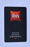 IBIS HOTELS  SCOPJA - Cartes D'hotel