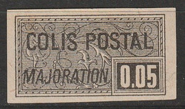 COLIS POSTAUX - N°23 Nsg (1918-20) 5c Noir - Ungebraucht