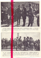 Orig. Knipsel Coupure Tijdschrift Magazine - Messines Wytschaete - Mesen Wijtschate - Le Roi & Maréchal Haig - 1924 - Zonder Classificatie