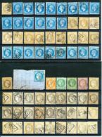 FRANCE - Sélection Nr 922 - 142 Timbres Classiques à Prospecter: Types, Nuances, Variétés, Cachets... - Collections