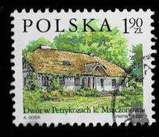 Polen 2001,Michel# 3881 O  Polish Country Estates: Petrykozy - Gebruikt