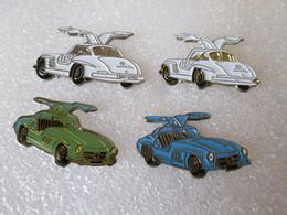 PIN'S    LOT 4  MERCEDES   300 SL   GULLWING - Mercedes