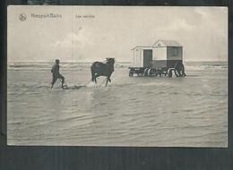 Belgique. Nieuport; Les Cabines - Nieuwpoort