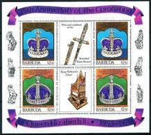 Barbuda Minipliegos-390/95 Nuevo - Antigua And Barbuda (1981-...)