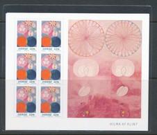 Sweden 2020. Facit # SS39. Hilma Af Klint Souvenir Sheet 6 * (International Mail). MNH (**) - Hojas Bloque