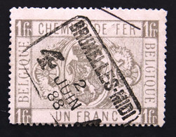 CHEMINS  DE  FER   TR 6  OBLITERE  ( 1879 / 1882 )  COB  :  20,00 € - Used