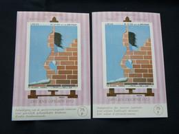 """BELG.1972 E123 & E124**: """" Les Villages Reine Fabiola/Dorpen Fabiola ** """" - Commemorative Labels"""