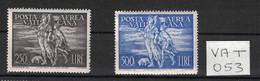 Vatican - Vatican City - Vaticano - Yvert PA 16-17 Neufs SANS Charnière - Scott#C16-C17 MNH - Unused Stamps