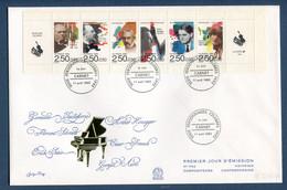 ⭐ France - Premier Jour - FDC - YT Carnet N° 2747 à 2752 - Grand Format - 1992 ⭐ - 1990-1999