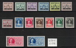Vatican - Vatican City - Vaticano - Yvert Colis-Postaux 1-15 Neufs SANS Charnière - Scott#Q1-Q15 MNH - Unused Stamps
