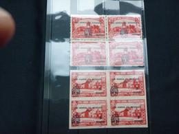 """BELG.1960 E81** : """" BLOKKEN VAN 4 """" - Commemorative Labels"""