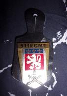 Insigne 511° Compagnie Matériel Du Territoire - Hueste