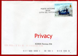 Vaticano 2021 - Lettera Dal Vaticano Per Fermo - Cartas