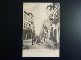 "Crete - La Canée - Rue Kastelli Actuellement ""Canevaro"" -   Edition A. Cavaliero - La Canée - - Greece"