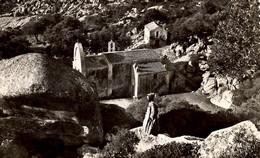CORSE - BONIFACIO - Moine Franciscain Sur Les Hauteurs De La Trinité - Other Municipalities
