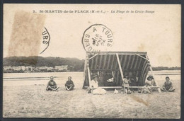 SAINT MARTIN DE LA PLACE. PLAGE DE LA CROIX ROUGE - Vanves