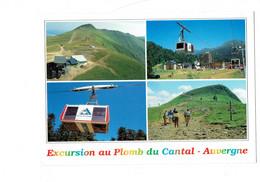 Cpm - Sommet Du Plomb Cantal - Auvergne - Excursion Téléphérique - 1999 - Debaisieux - Aurillac