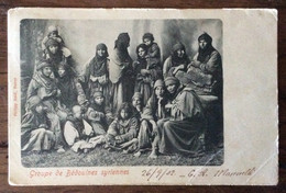 BEYRUT  OSTERR.POST 25/9/02  Su 10 Para + GRANDHOTEL D'ORIENT BEYROUTE (SYRIE)- GROUPE DE BEDOUINES SYRIENNES X FIRENZE - Mundo