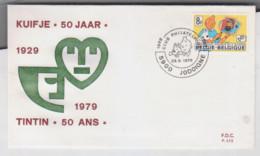 TINTIN   FDC   Jodoigne  1979 - Non Classificati