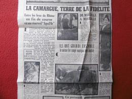 LA CAMARGUE TERRE DE LA FIDELITE LE POULY MARQUIS DE BARONCELLI LES SAINTES MARIES DE LA MER - Historische Documenten