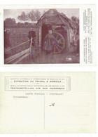 Hamme  Raddraaister Bij Een Koordendraaier  Tourneuse De Roue Chez Un Cordier  Exposition Du Travail à Domicile  METIER - Hamme