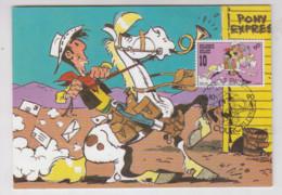 LUCKY LUKE   Carte 1990 - Non Classificati