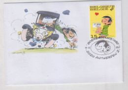 GASTON   Enveloppe  Antwerpen 1997 - Non Classificati
